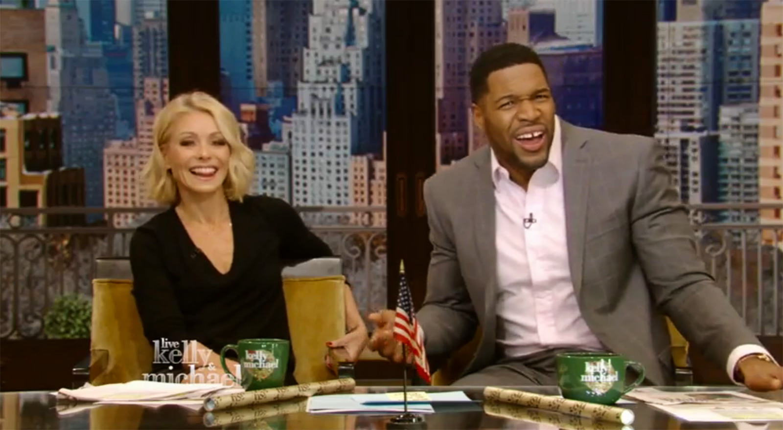 Michael Strahan Accidentally Gives Away A Tropical Michael