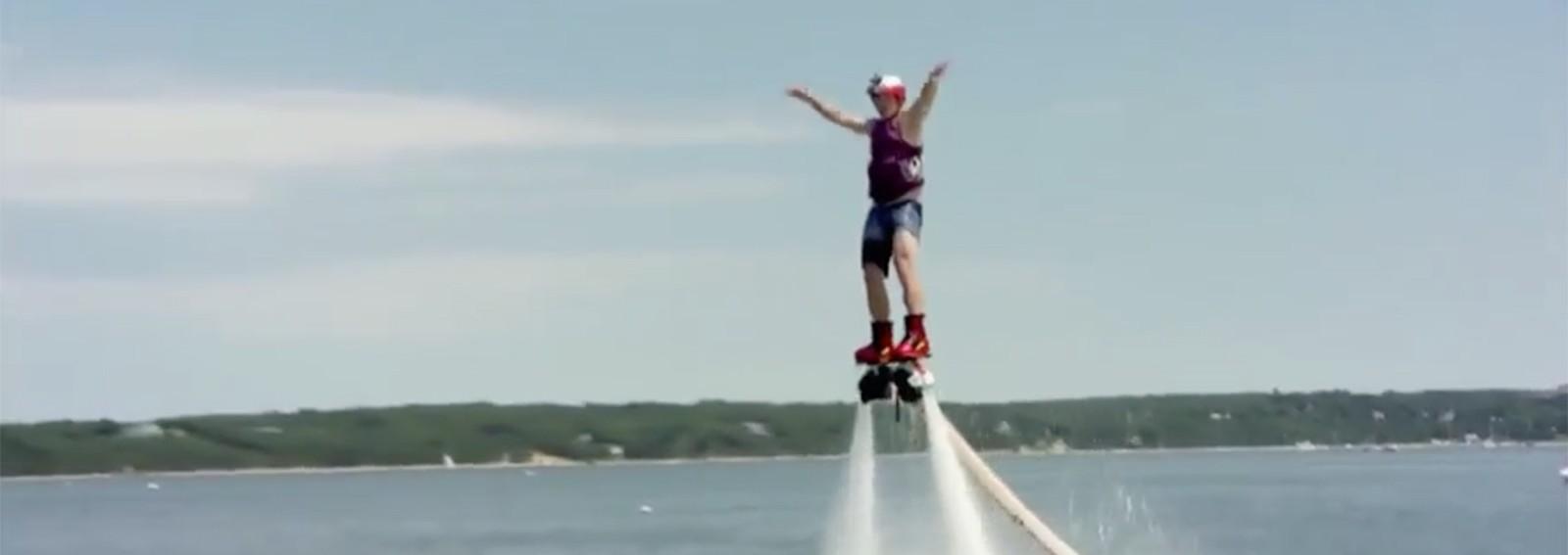 Billy Bush's brutal flyboarding fails will make you cringe