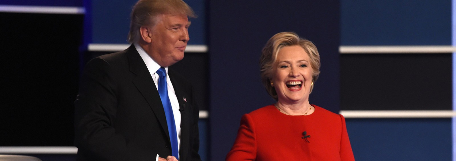 Watch the heated Clinton-Trump debate in 3 minutes