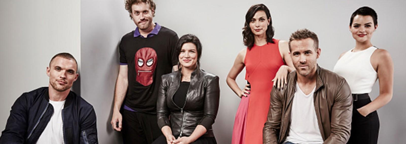 LIVE: Ryan Reynolds, TJ Miller, Ed Skrein and Morena Baccarin on upcoming film 'Deadpool'