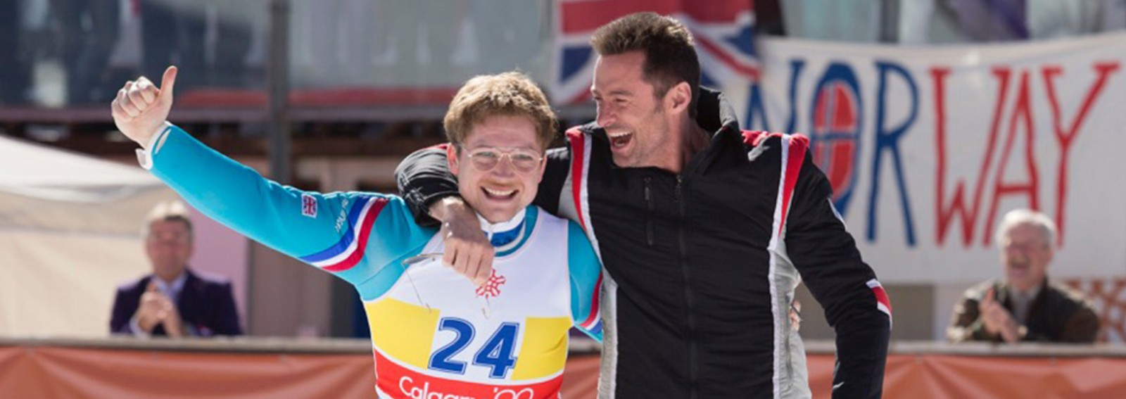 Get a sneak peek at the inspirational story of 'Eddie the Eagle'