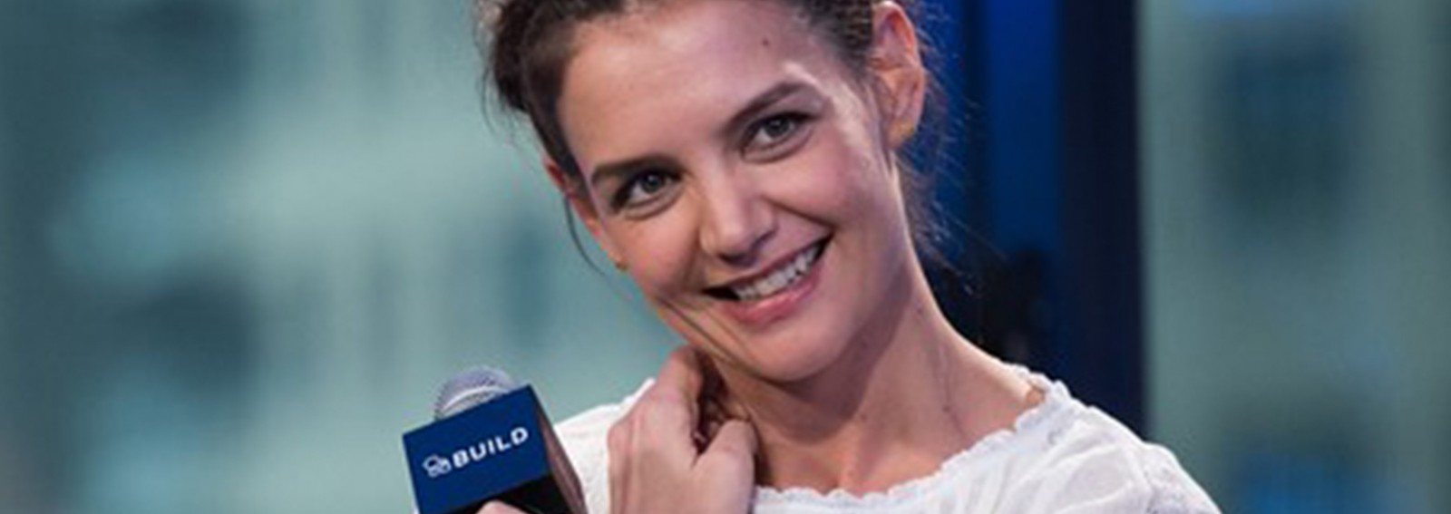Katie Holmes opens up about what she learned working on 'Touched with Fire'