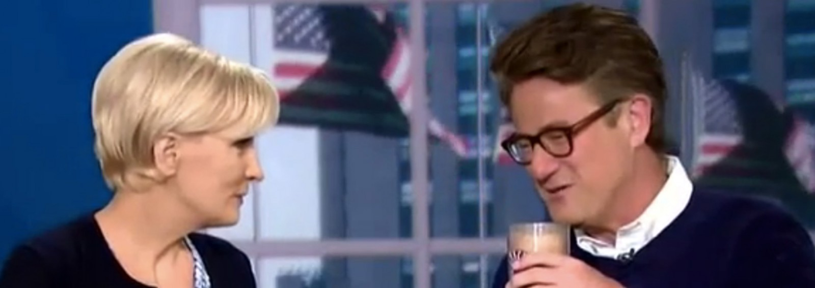 Rumors are swirling about budding romance between 'Morning Joe' co-hosts