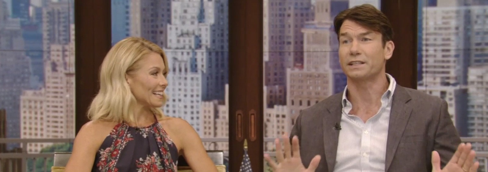 Jerry O'Connell says he likes one of Kelly Ripa's children more than most of his friends