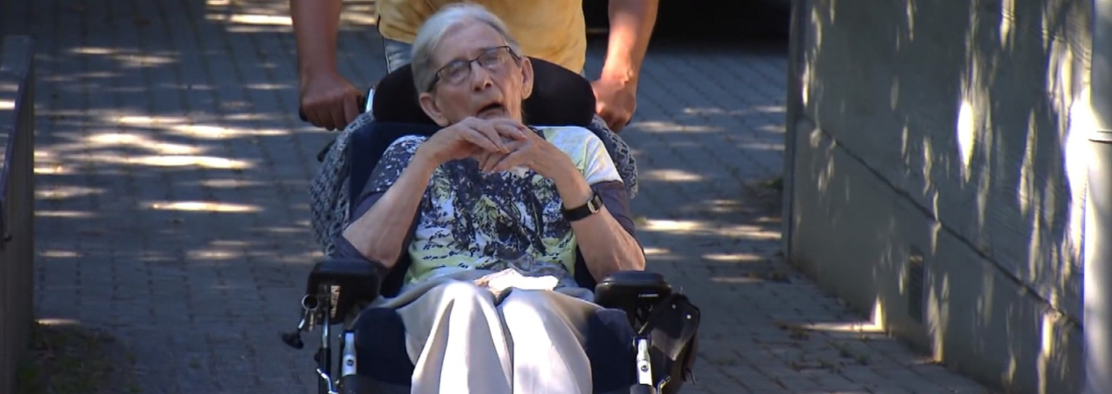 87-year-old woman with Parkinson's disease is granted touching final wish
