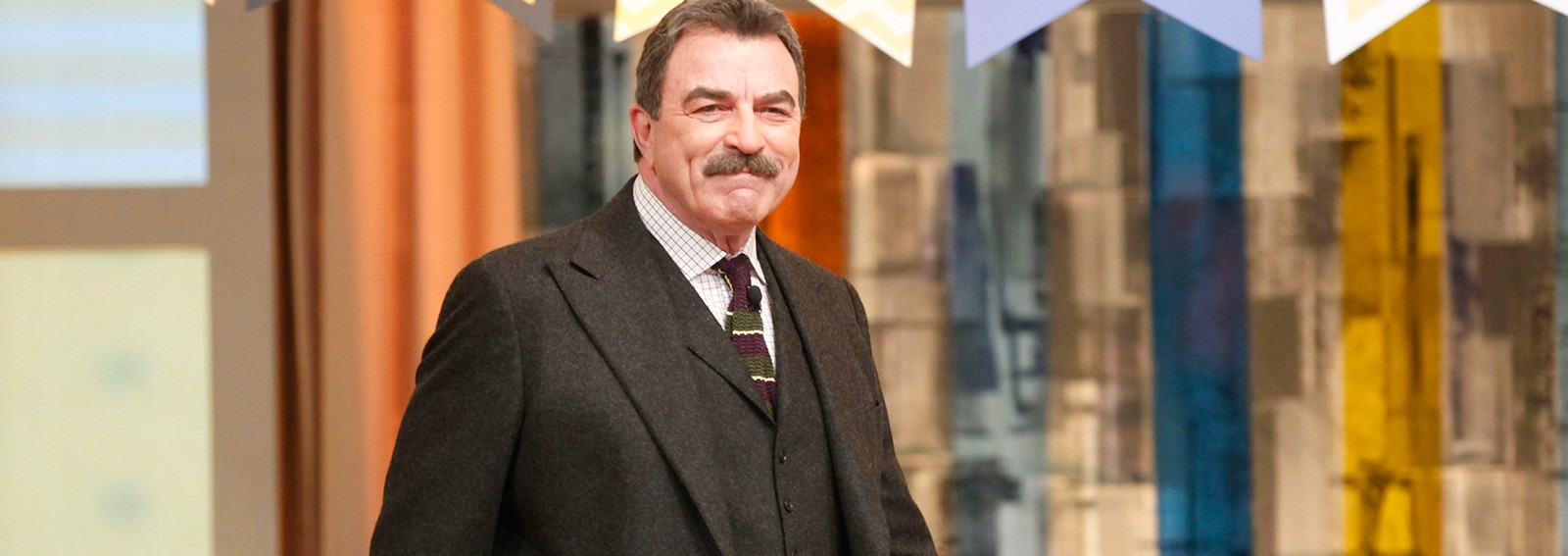 Tom Selleck puts his mustache knowledge to the test