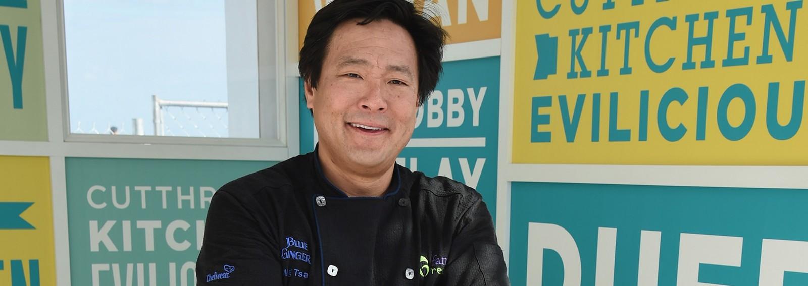 Award-winning chef Ming Tsai discusses his latest creation, the PekingDucken