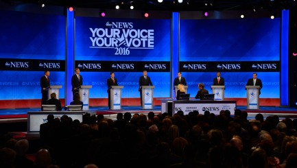 GOP candidates battle over 1 key voting group