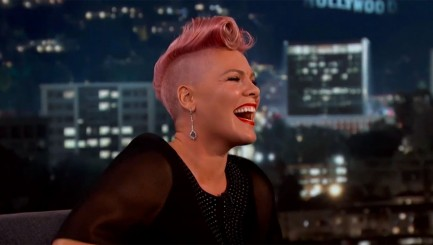 A-list star gives P!nk the ultimate surprise on TV