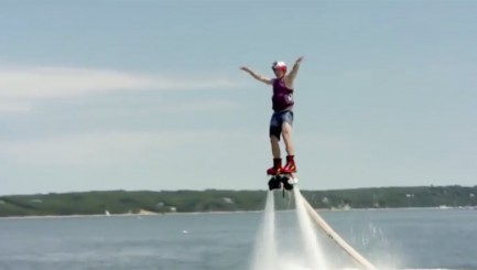 Billy Bush's brutal flyboarding fails will make you cringe
