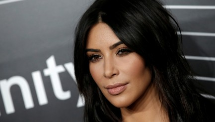 Kim Kardashian's lingerie-inspired dress turns heads in Sin City
