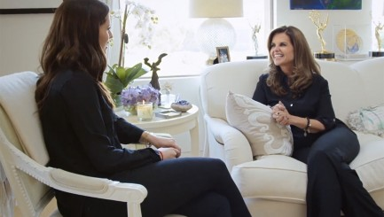 Maria Shriver gets candid with her daughter Katherine Schwarzenegger about motherhood