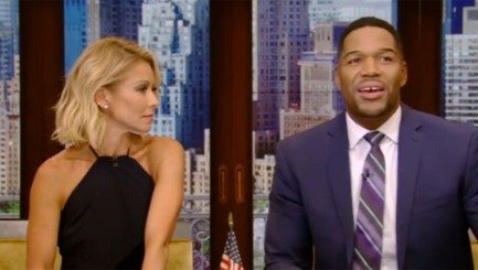 Michael Strahan reveals why he sleeps with his bedroom door locked