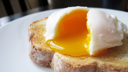 Believe it or not, you can poach an egg faster without using a stove