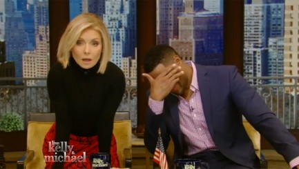 Kelly Ripa brings down the house with her hilarious impression of a seal