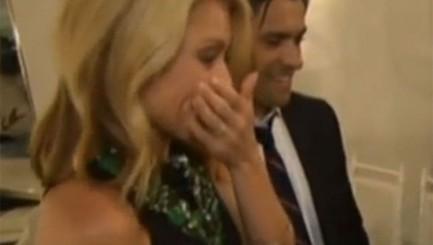 Heartwarming anniversary surprise brings Kelly Ripa to tears