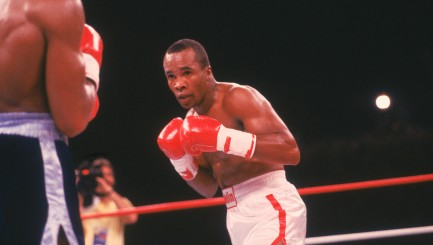 Sugar Ray Leonard reveals the heartbreaking reason he became a professional boxer