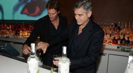 George Clooney's liquid passion