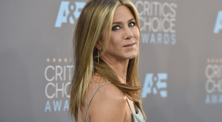 Jennifer Aniston shows off signature legs in daring outfit