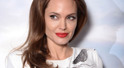 Angelina Jolie dishes on relationship with ex