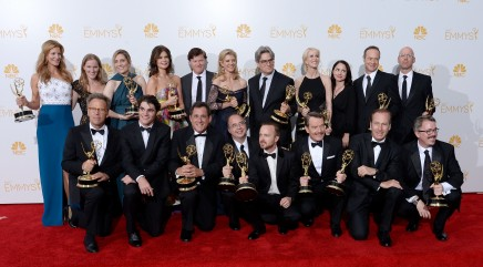 'Breaking Bad' dominates at Emmy Awards