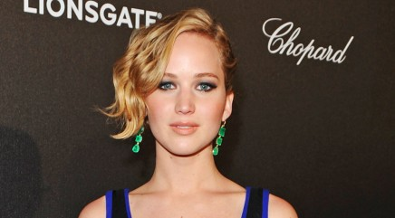 Coldplay singer blows Jennifer Lawrence a kiss