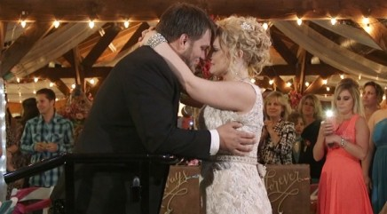 Paralyzed groom stands to dance with his bride at wedding