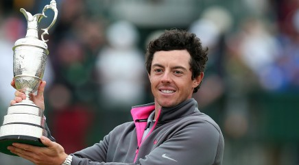 McIlroy's dominant display at British Open