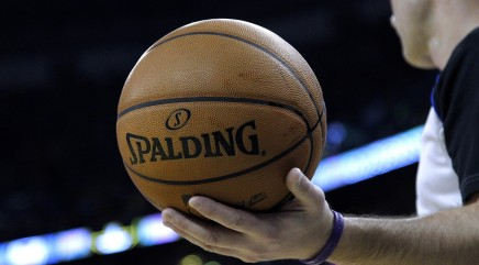 NBA balls getting social media identifier