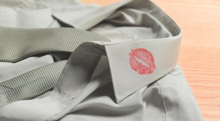 Clever trick to removing lipstick stains
