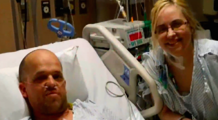 Life-saving gift to a stranger sparks a love story