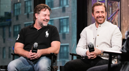 Russell Crowe and Ryan Gosling discuss their collaboration