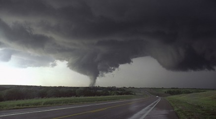 Storm chasers hit by farming equipment