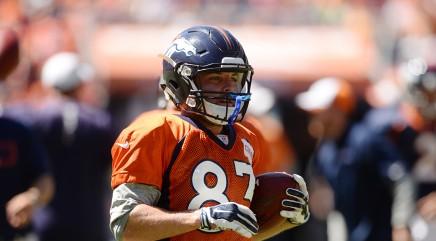 Broncos star WR Wes Welker suspended