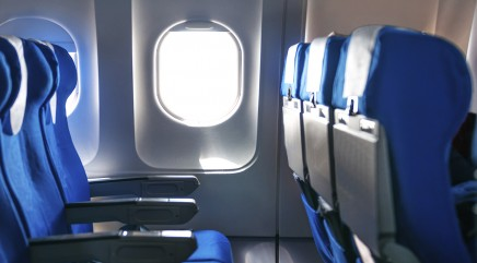Safest rows to book on a plane