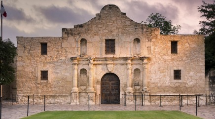 Treasure may be buried inside the Alamo