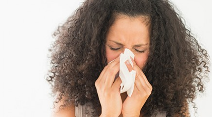 Why do some adults develop allergies?