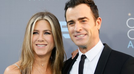 Jennifer Aniston and Justin Theroux celebrate a major milestone