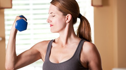 Simple exercises for perfectly sculpted arms