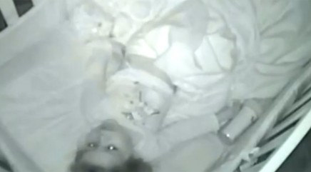 Parents capture 2-year-old daughter adorably praying on baby monitor