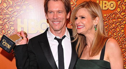 Kevin Bacon's romantic surprise for Sedgwick