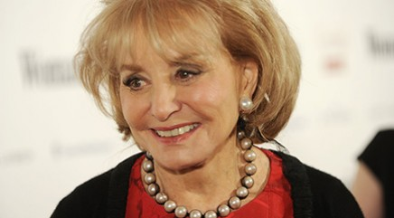 Barbara Walters' worst nightmare