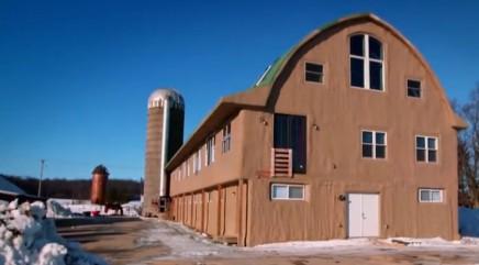 Dairy barn turned into stunning home