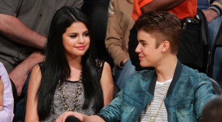 Justin Bieber is doting on Selena Gomez