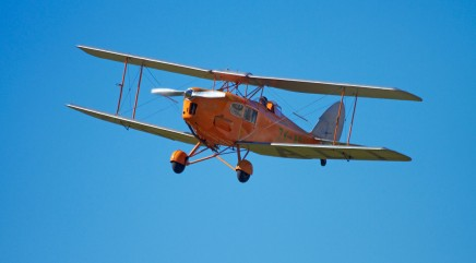 What it's like to fly in the world's only jet-powered biplane