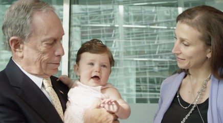 Michael Bloomberg opens up to his eldest daughter Emma about fatherhood