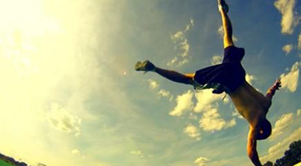 Breakdancer's GoPro view goes viral
