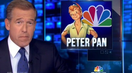 Brian Williams has a proud father moment