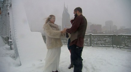 Couple wouldn't let massive blizzard ruin their special day