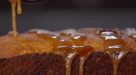 British marmalade cake